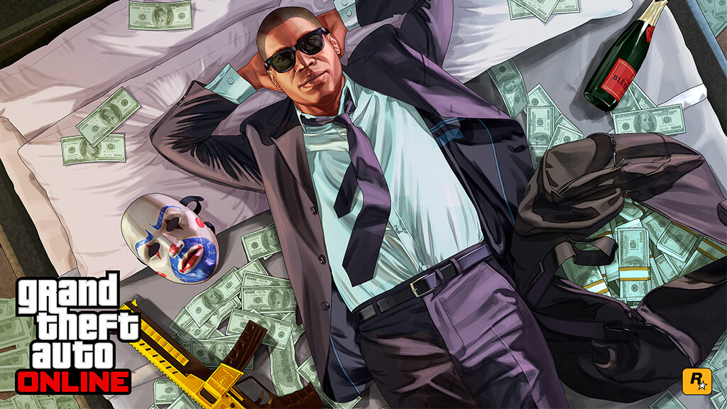 gta online грязные деньги