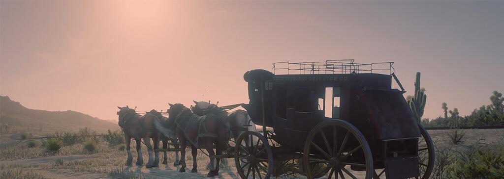 Ограбление банков, поездов, магазинов и многого другого в Red Dead Redemption 2