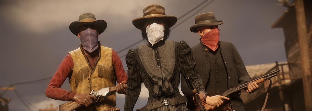 Новая одежда, жест, бонусы и скидки в Red Dead Online