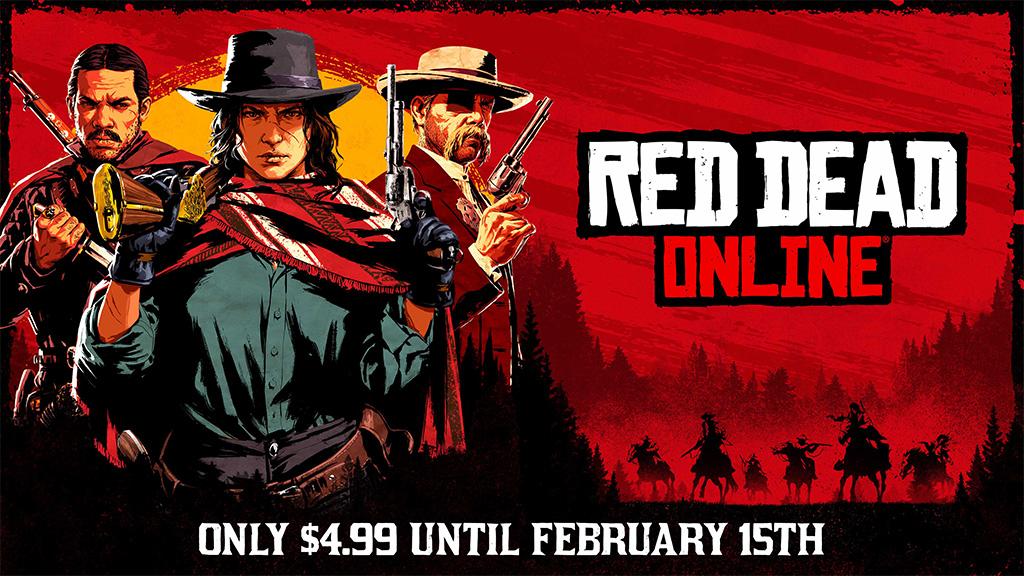 red dead online скидка