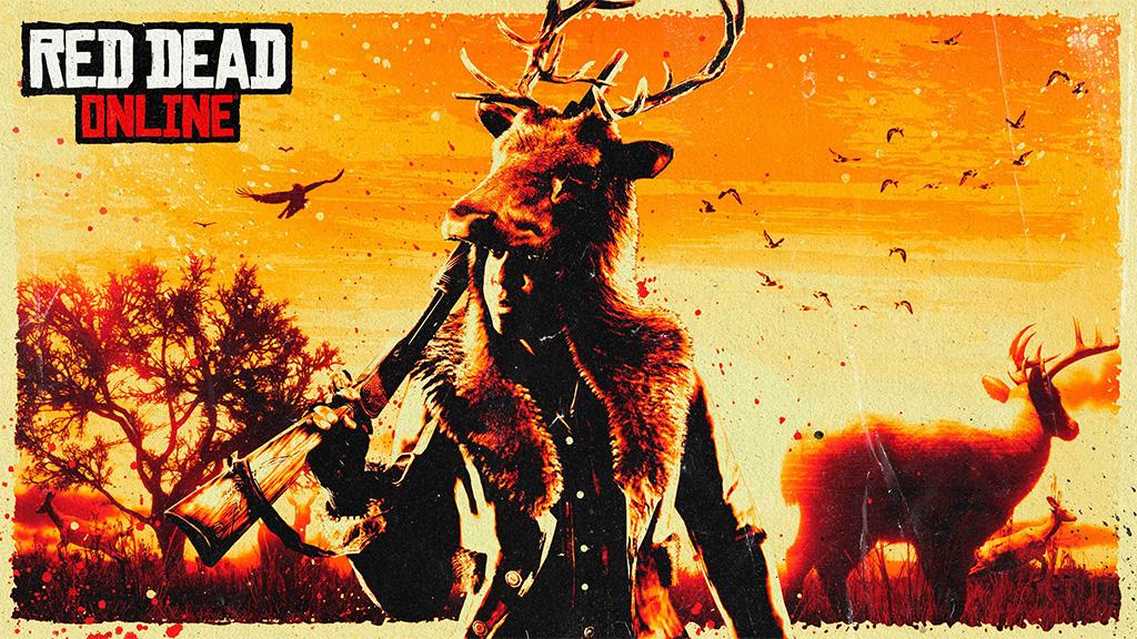 red dead online охота
